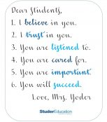 Try this tip: Commit to Students