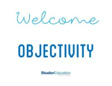 Try this tip: Welcome Objectivity