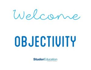 welcome objectivity