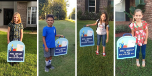 Ocean-Springs-School-District-Lenneps-third-grade-students-yard-sign
