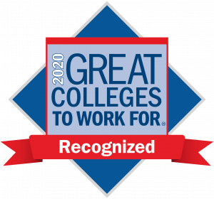 2020 Great Colleges to Work For Recognized